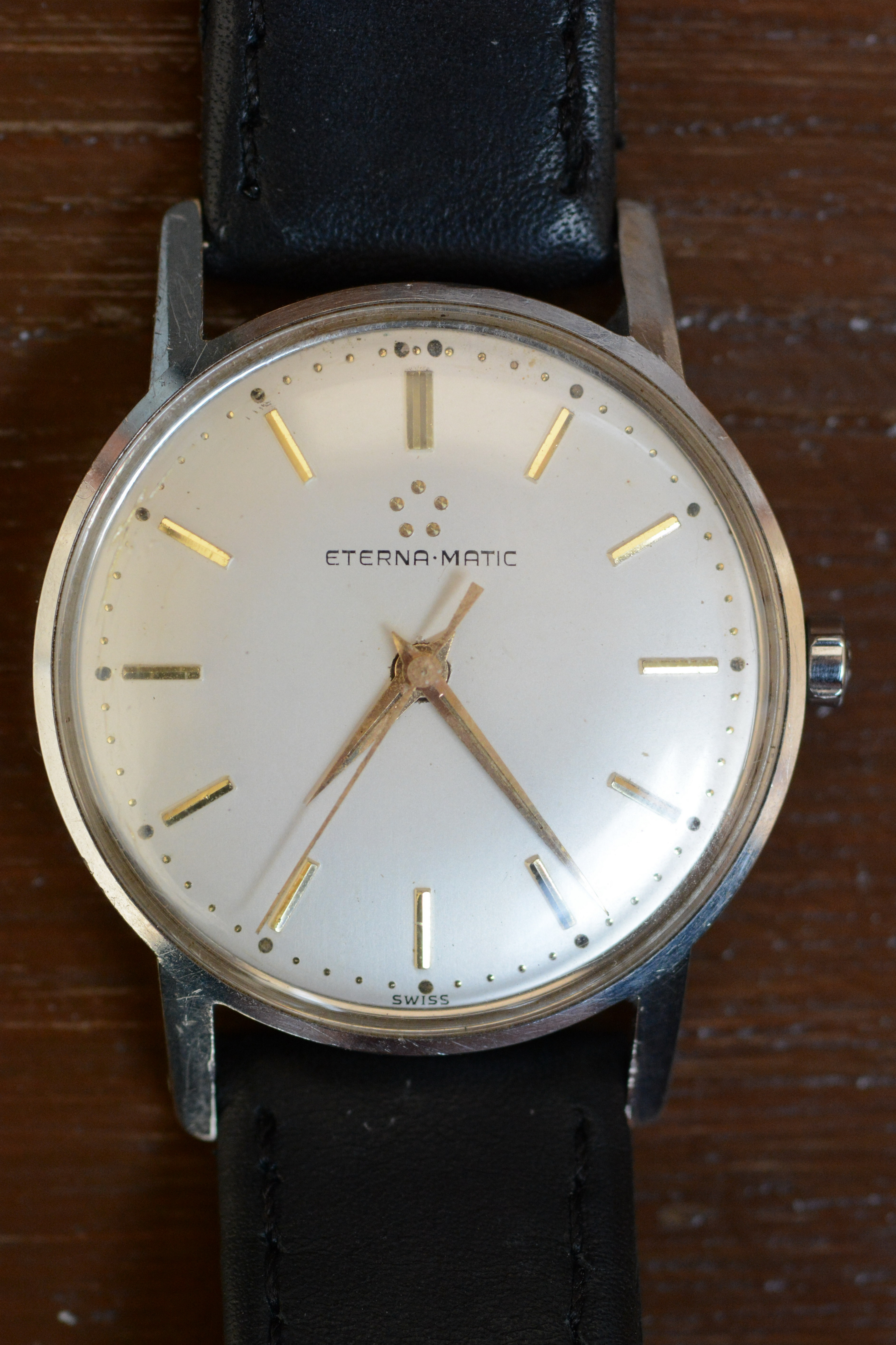 Eterna Matic Kontiki 1958 Eterna-matic Cal 1414u 1958