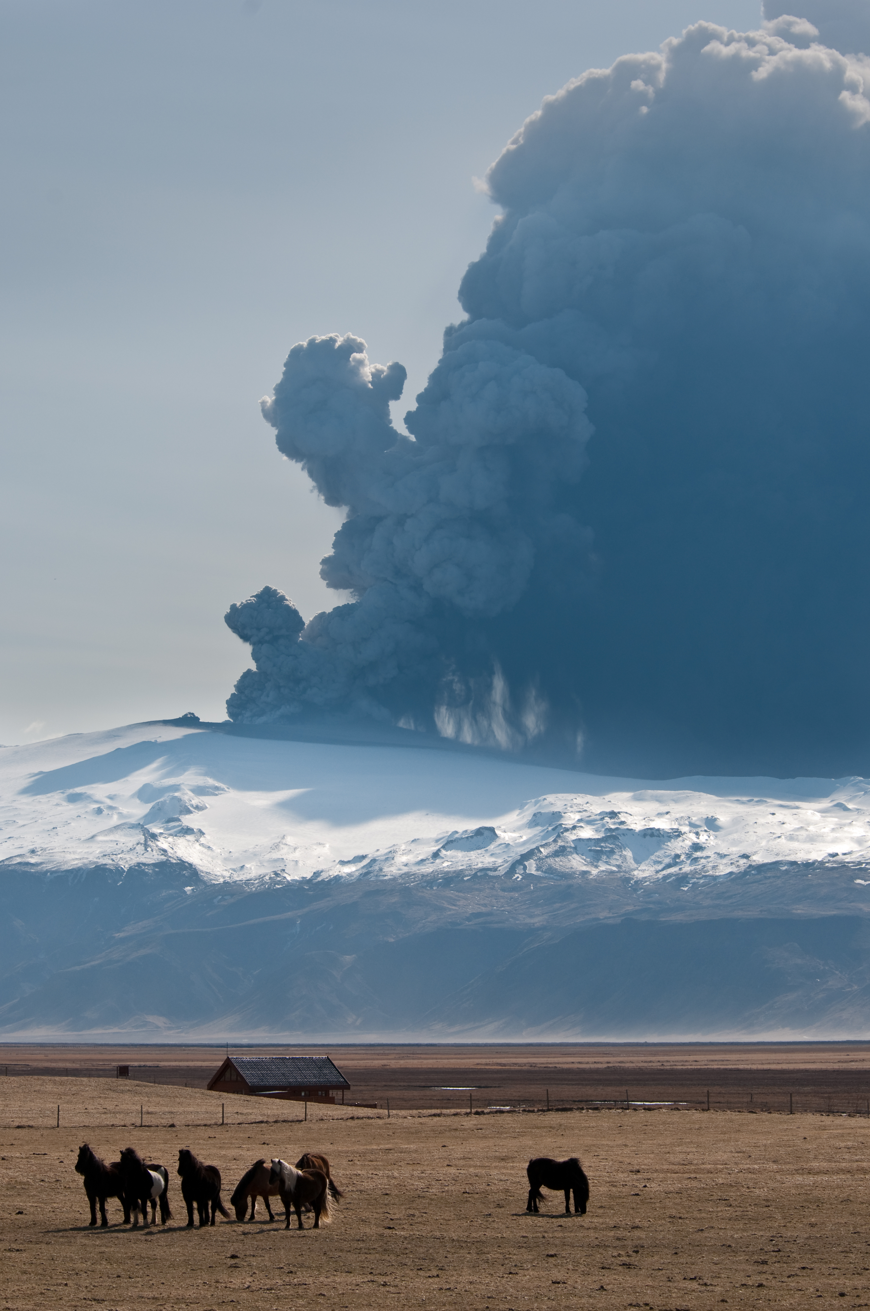 Eruption Volcanique Islande Avion Interdit