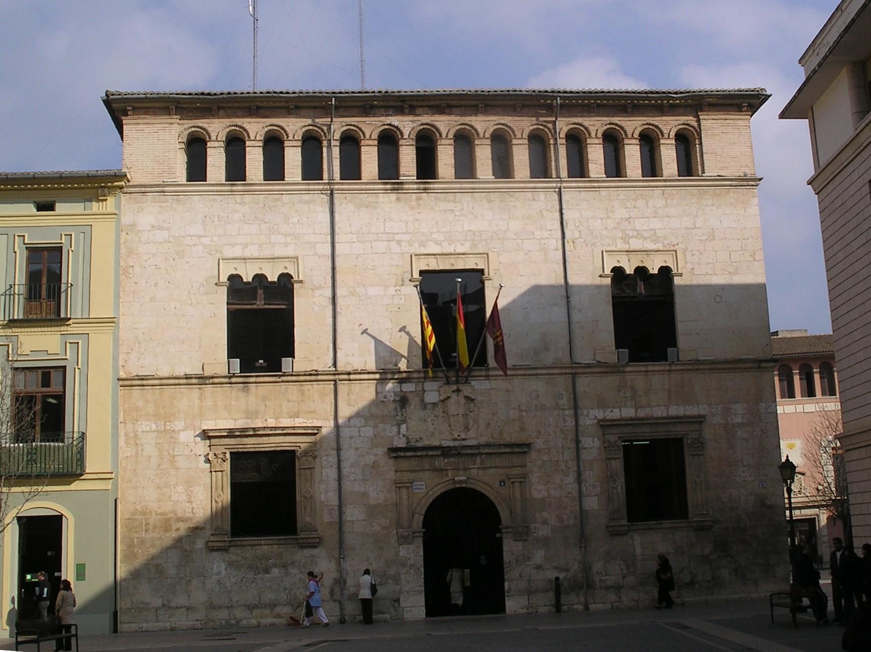 File fachada del ayuntamiento de alzira valencia espa a - Hoteles en alzira valencia ...