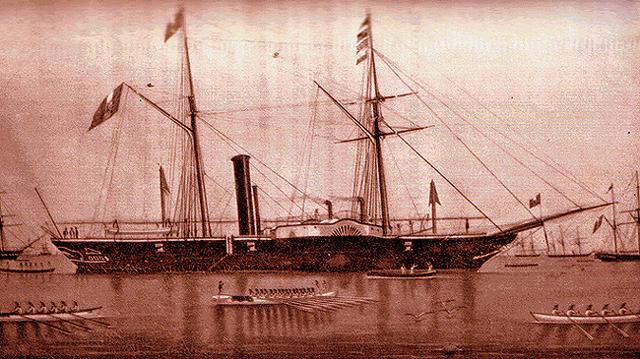 Guerra hispano-sudamericana (1865 - 1871) Fragata_Amazonas_1865