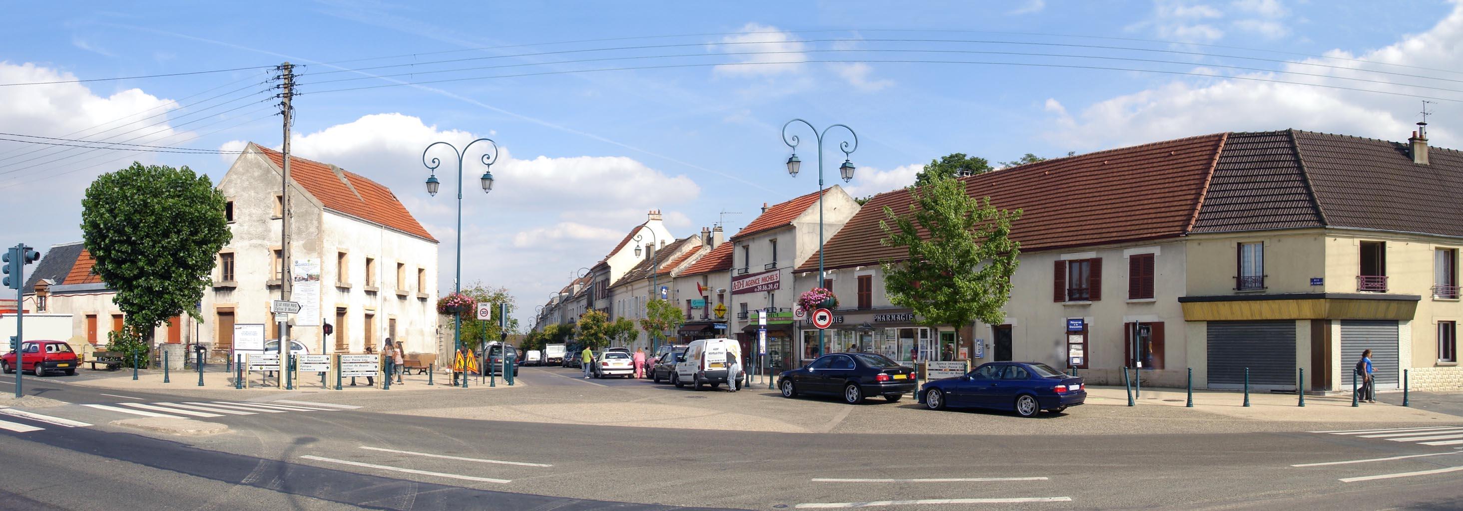 Gonesse France  city photos : Fichier:Garges les Gonesse Rue de Verdun panoramique ...