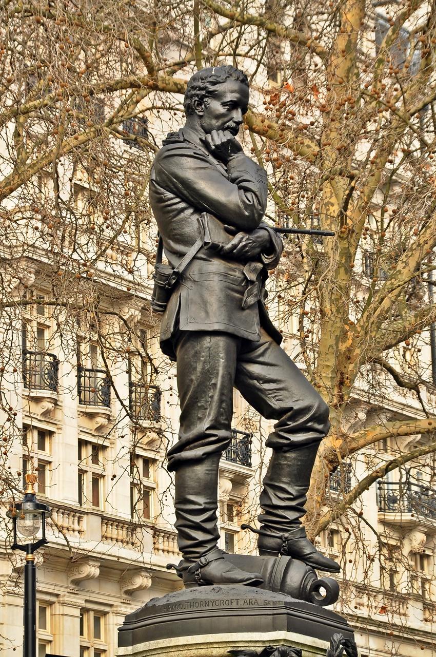 Statue of General Gordon - Wikipedia