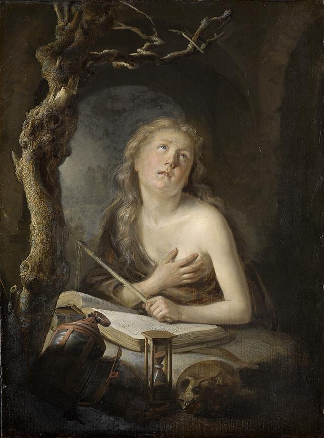https://upload.wikimedia.org/wikipedia/commons/e/e6/Gerard_Dou_-_Penitent_Magdalene_Karlsruhe.jpg