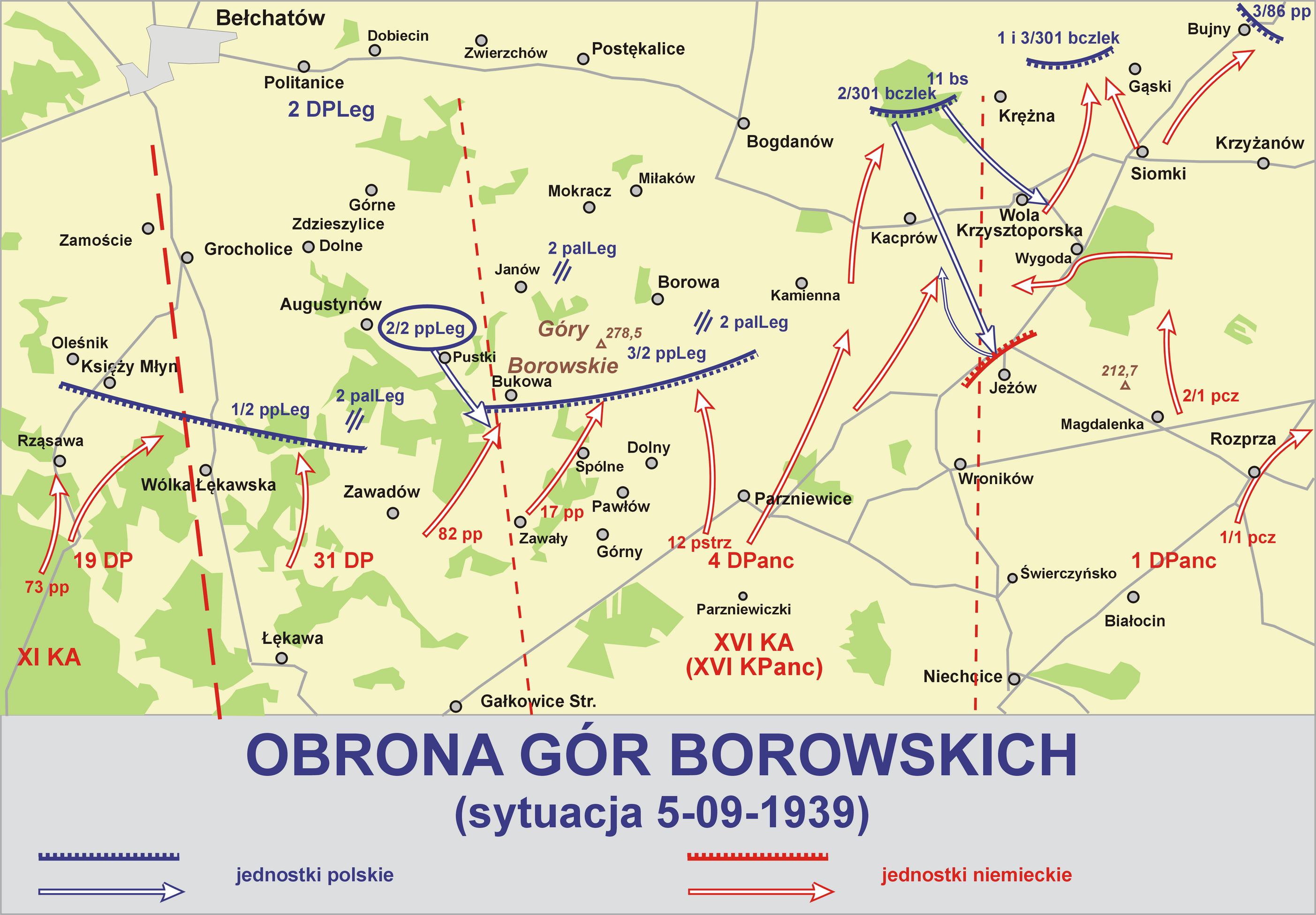 Poland 1939 kia german officers page 76 axis history forum map borowskie hills sciox Choice Image