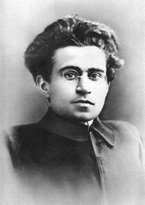 Antonio Gramsci, member of the Italian Socialist Party and later leader and theorist of the Communist Party of Italy Gramsci.png