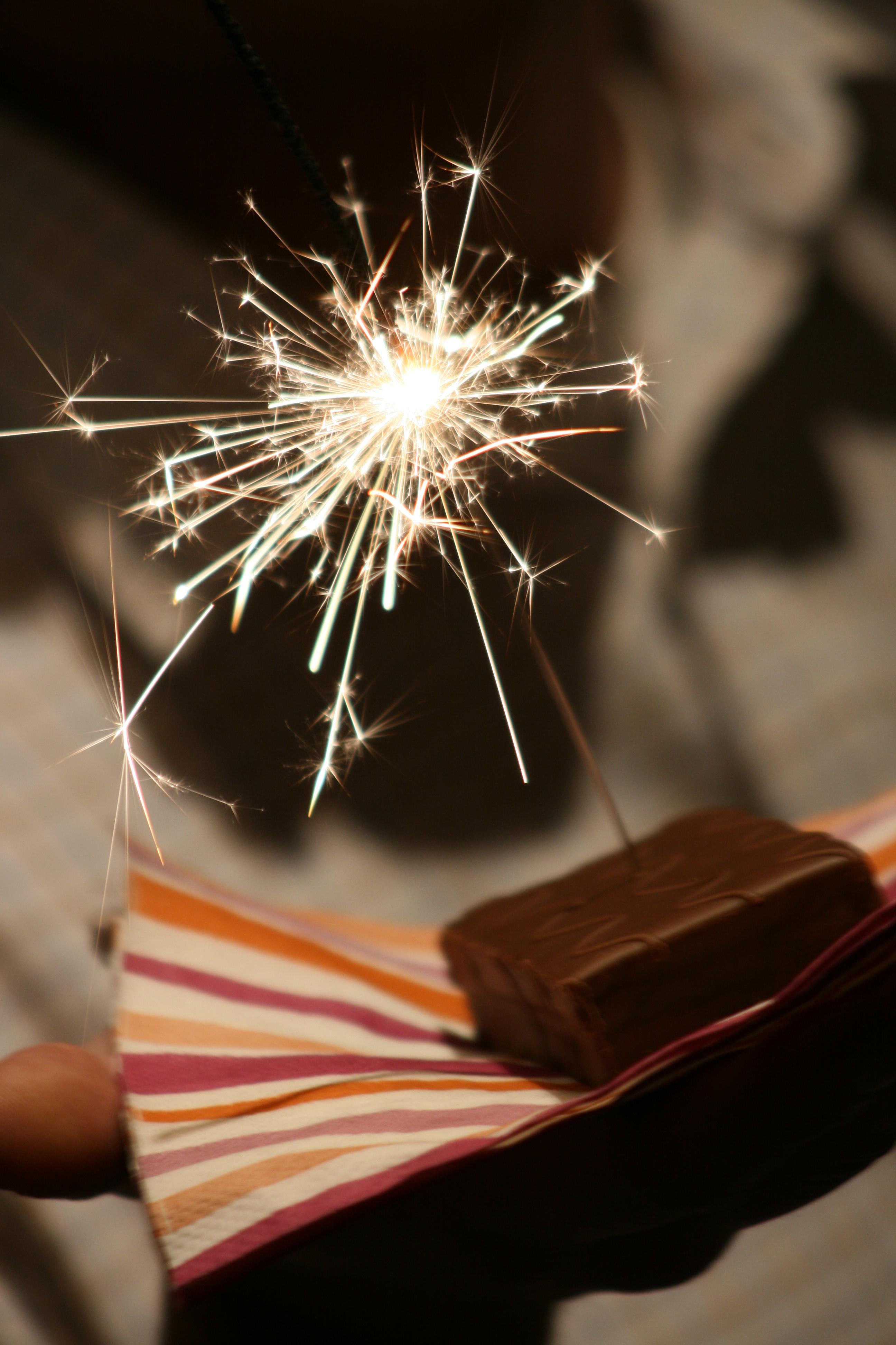 Birthday Cake Sparklers Singapore