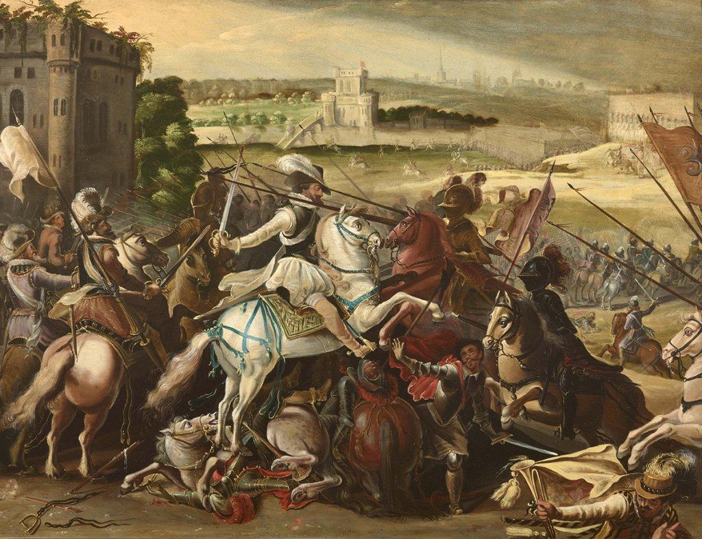 File:Henri IV à la bataille d'Arques 21 septembre 1589.jpeg