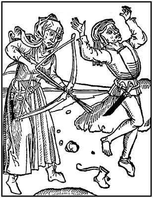 Hexenschuss von Johann Zainer