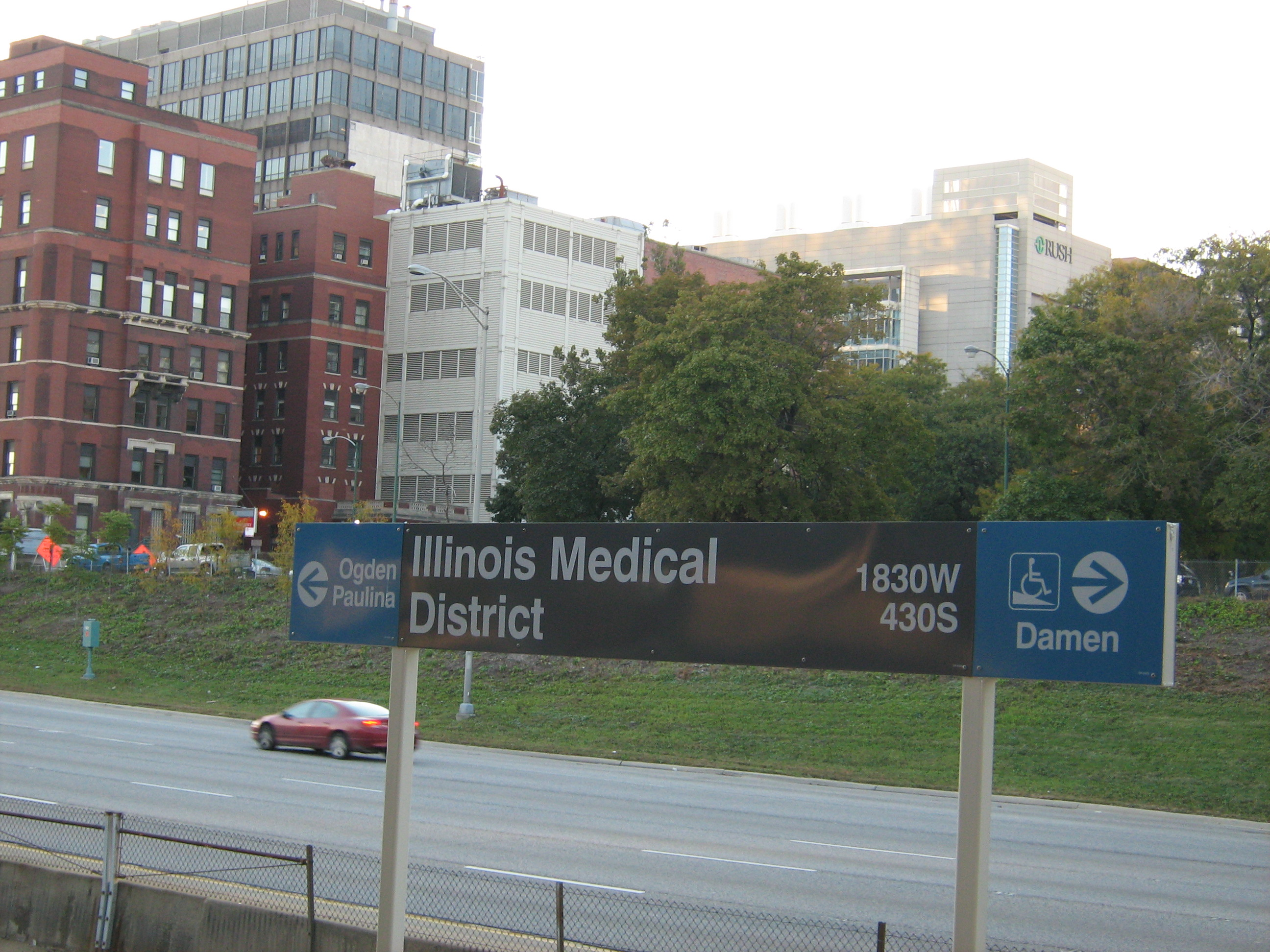 Illinois Medical District (CTA station)