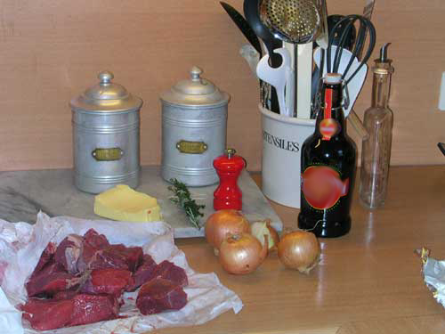 Ingredients carbonade