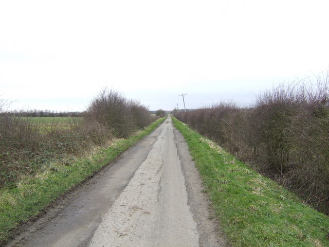 Ings Lane A dead-end lane west of Kirton.