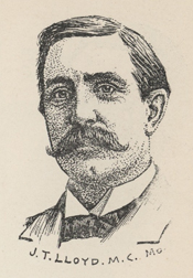 James Tilghman Lloyd, 1902.