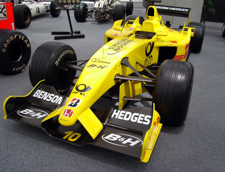 What Is Suspension In Car >> Jordan EJ12 - Wikipedia