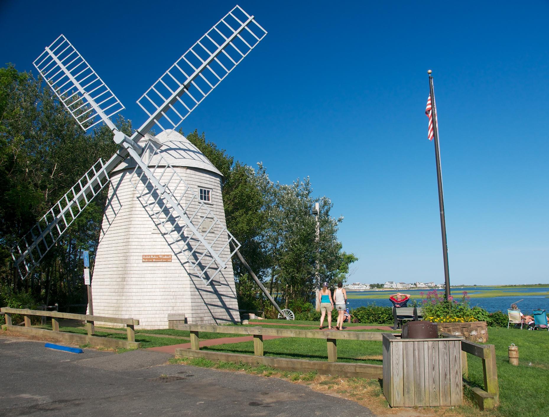 Nice Windmill Cape Cod Part - 4: File:Judah Baker Windmill, Bass River Cape Cod, MA.jpg
