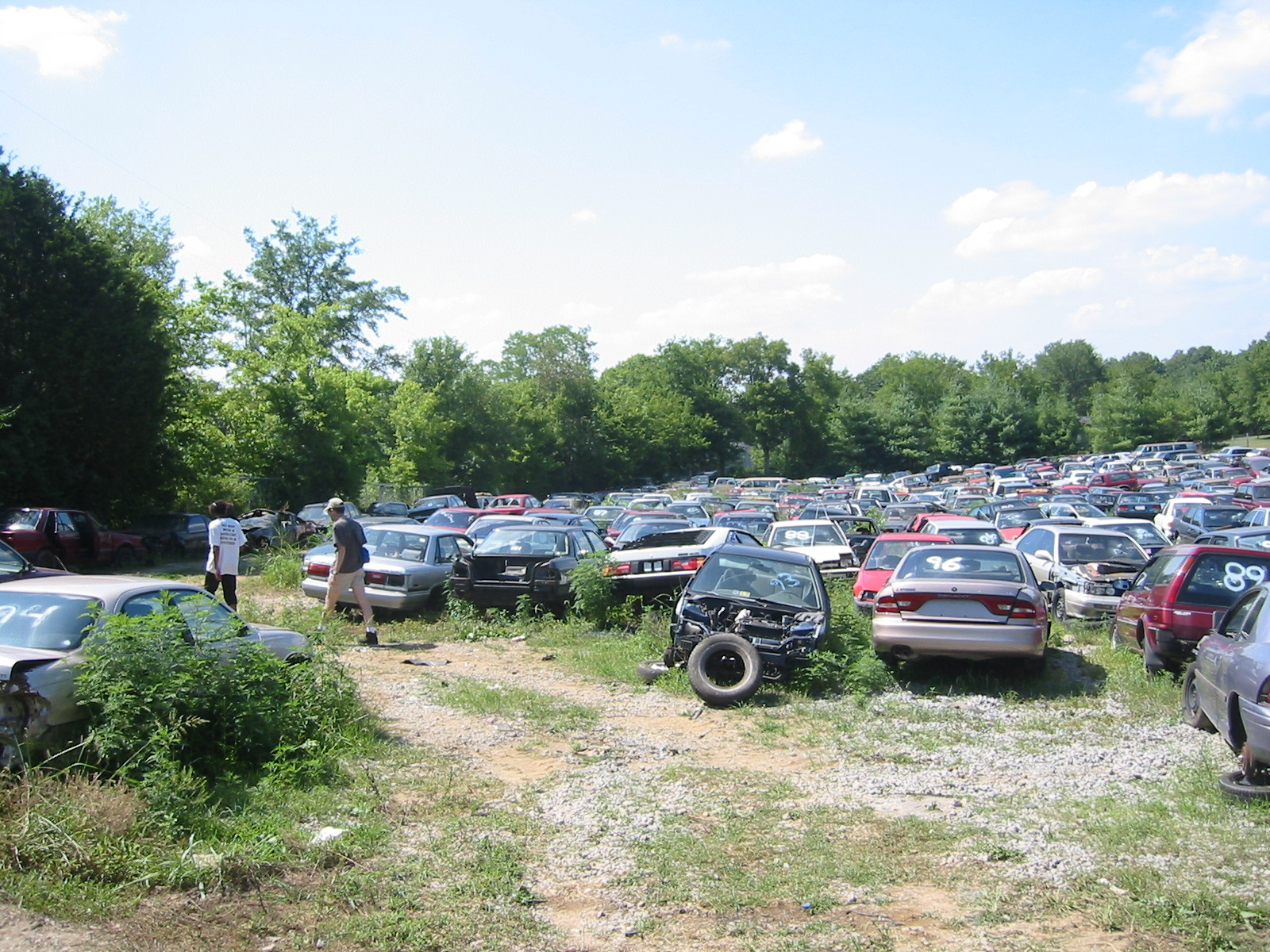 Junk Yards In Dayton Ohio >> Salvage Yards For Cars