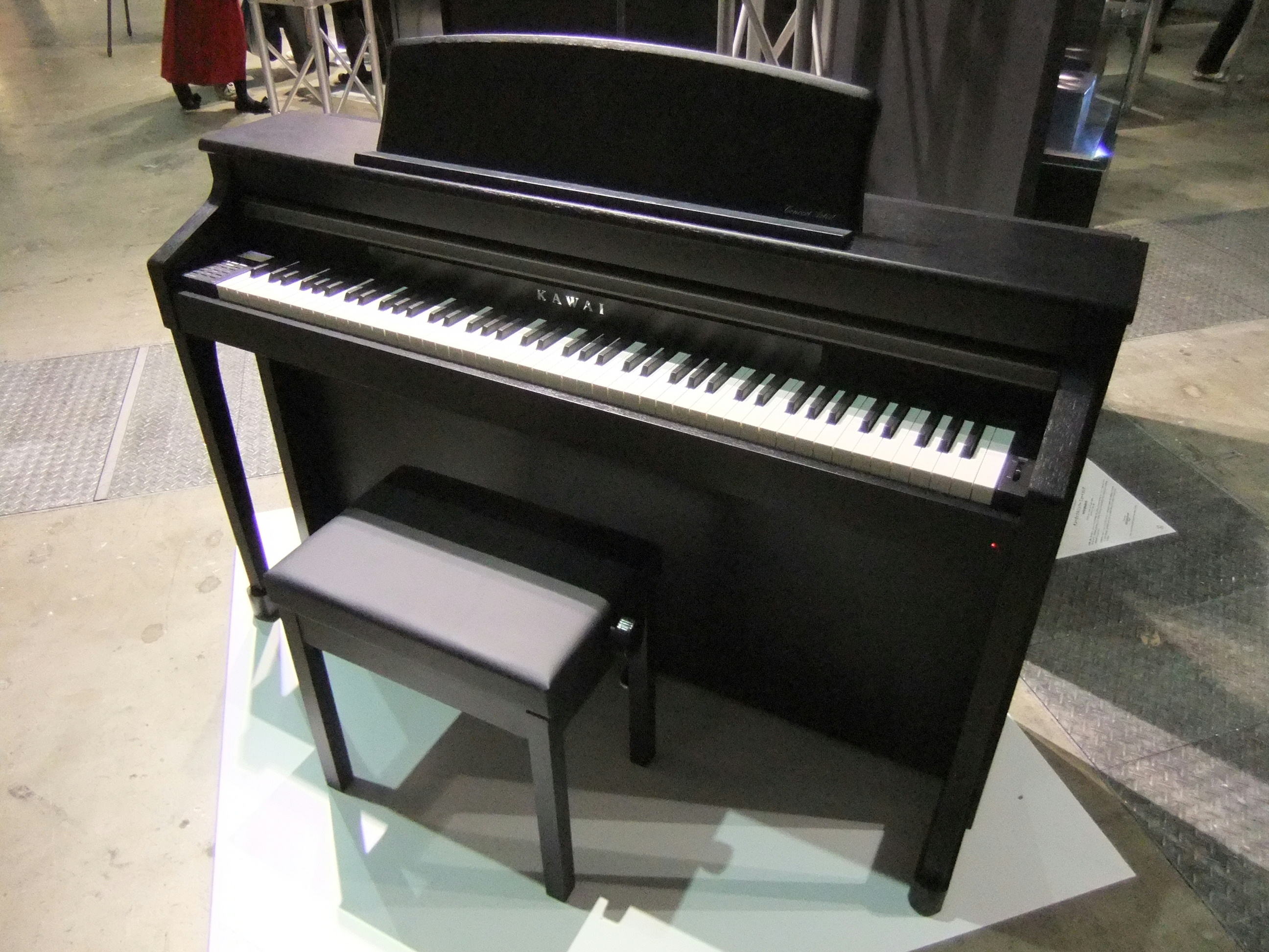 file kawai digital piano concert artist ca95 jpg wikimedia commons. Black Bedroom Furniture Sets. Home Design Ideas