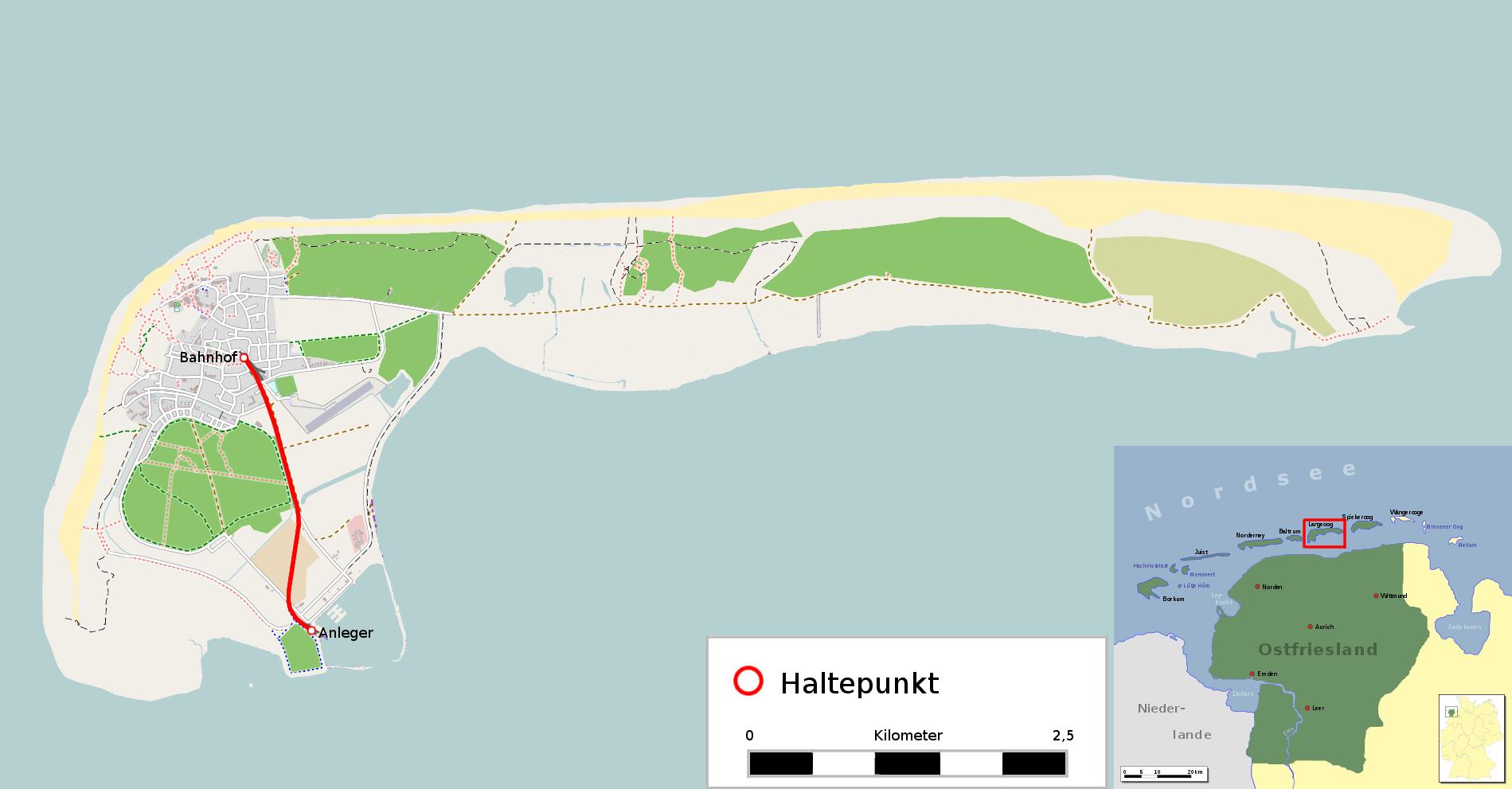 langeoog karte Datei:Karte der Inselbahn Langeoog.png – Wikipedia