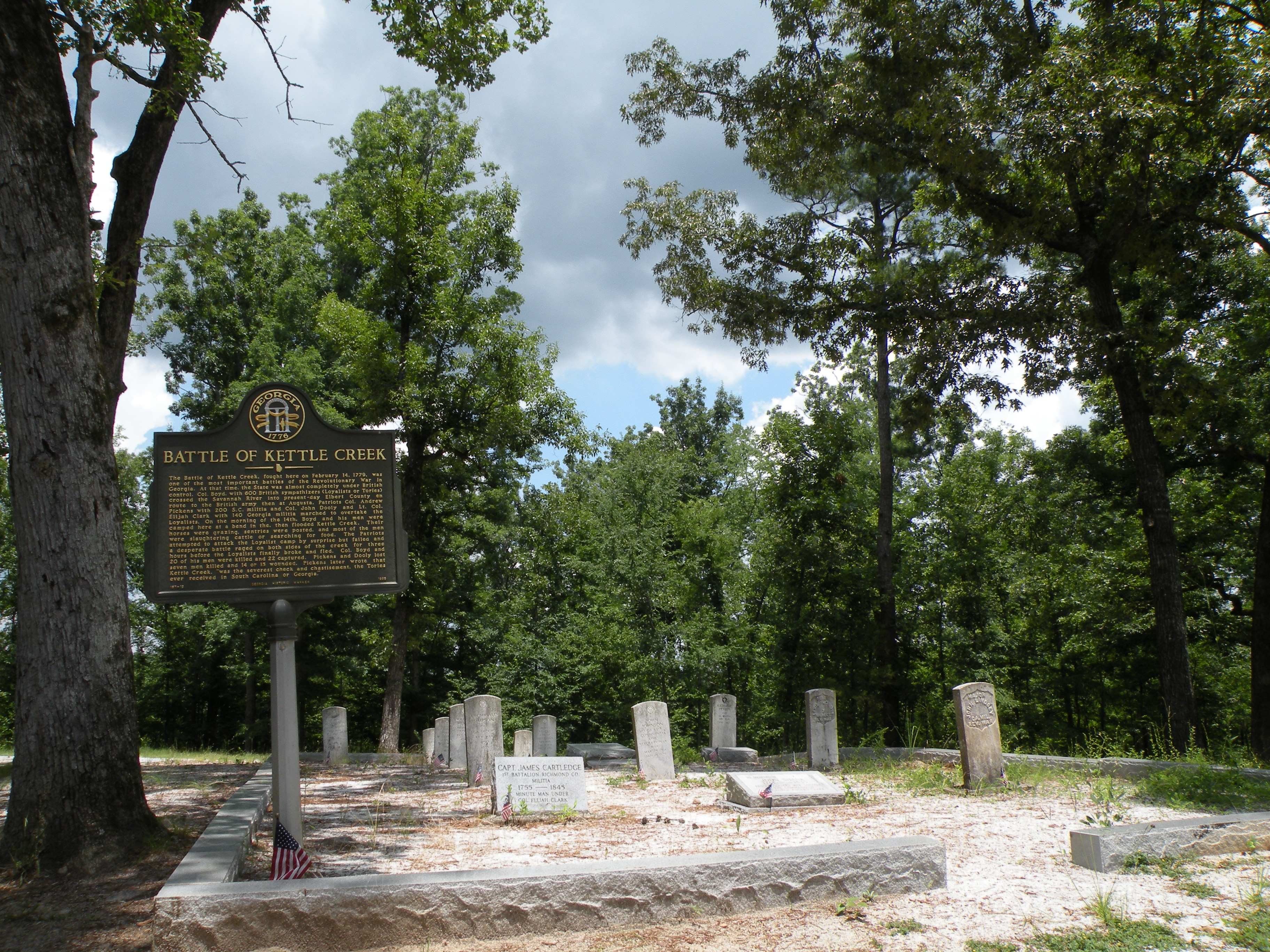 File Kettle Creek Battlefield Wilkes County Ga Jpg