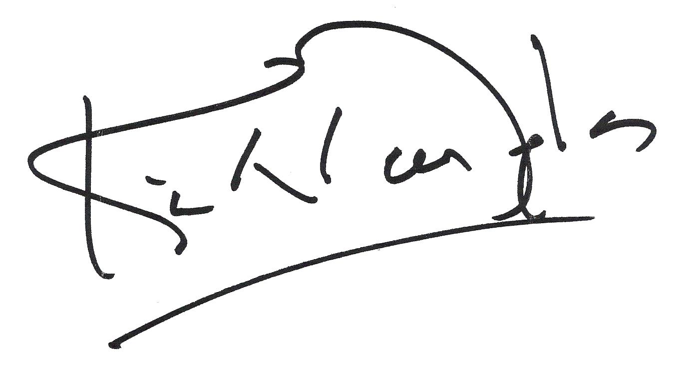 Kirk Douglas signature
