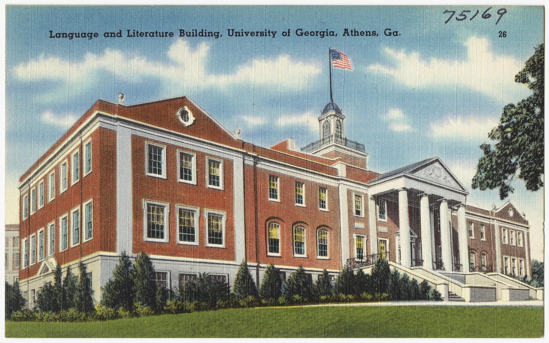 University Of Georgia Athens >> File Language And Literature Building University Of Georgia Athens