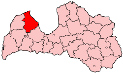 District in Latvia