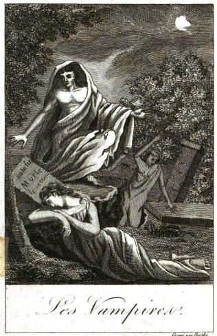 Histoire des vampires et des spectres malfaisans avec un examen du vampirisme, 1820