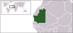 Location of Mauritània
