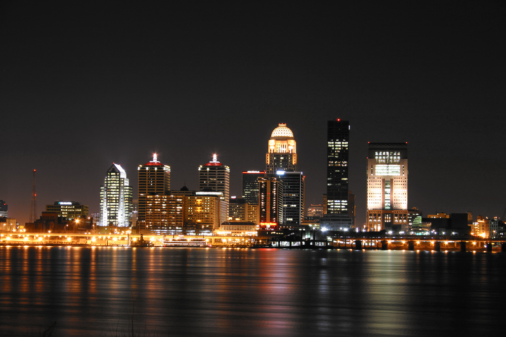 Image result for Louisville skyline