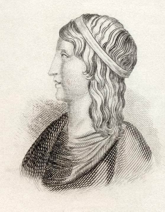 Depiction of Apuleius