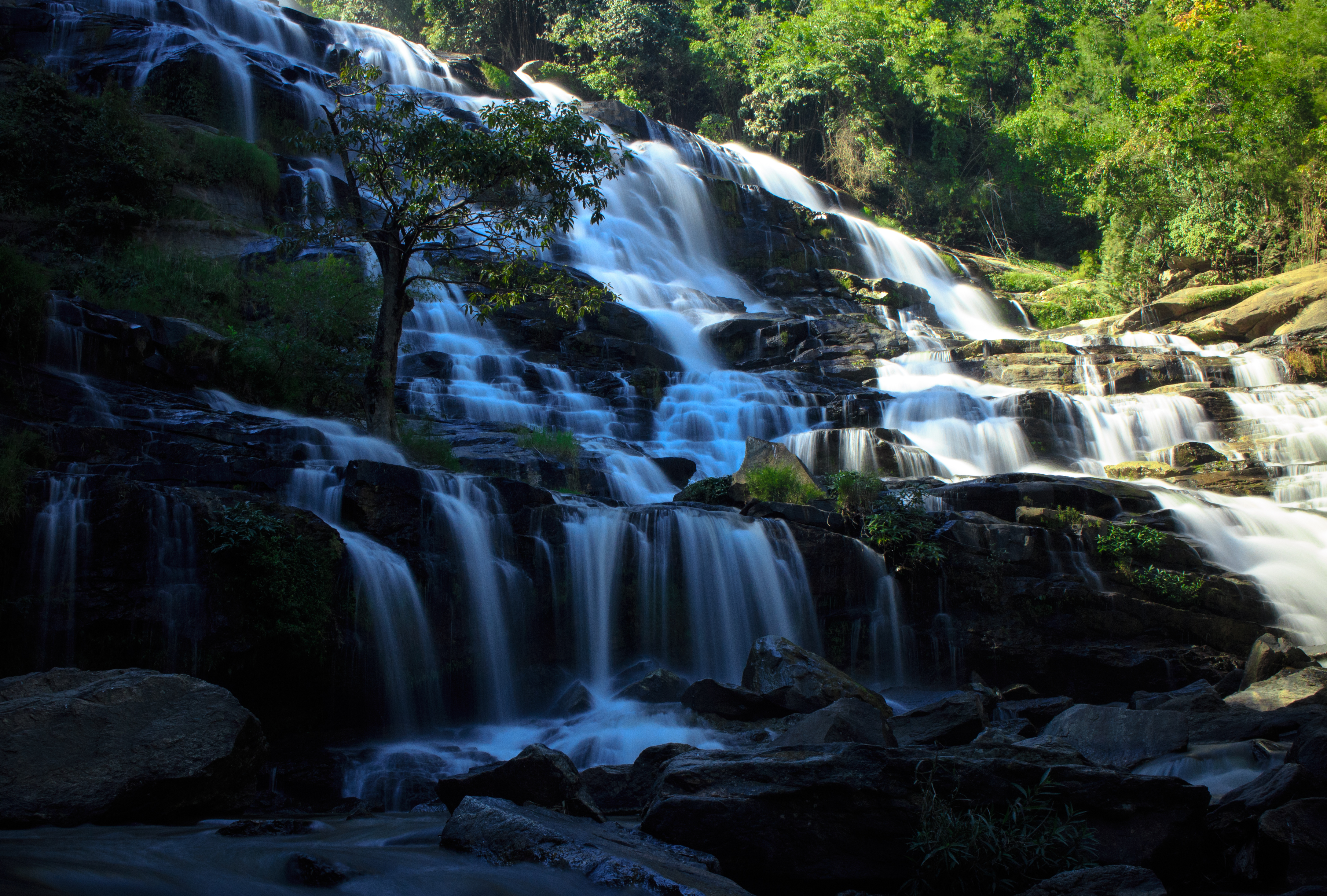 Mae Ya Waterfall; Waterfalls in Thailand