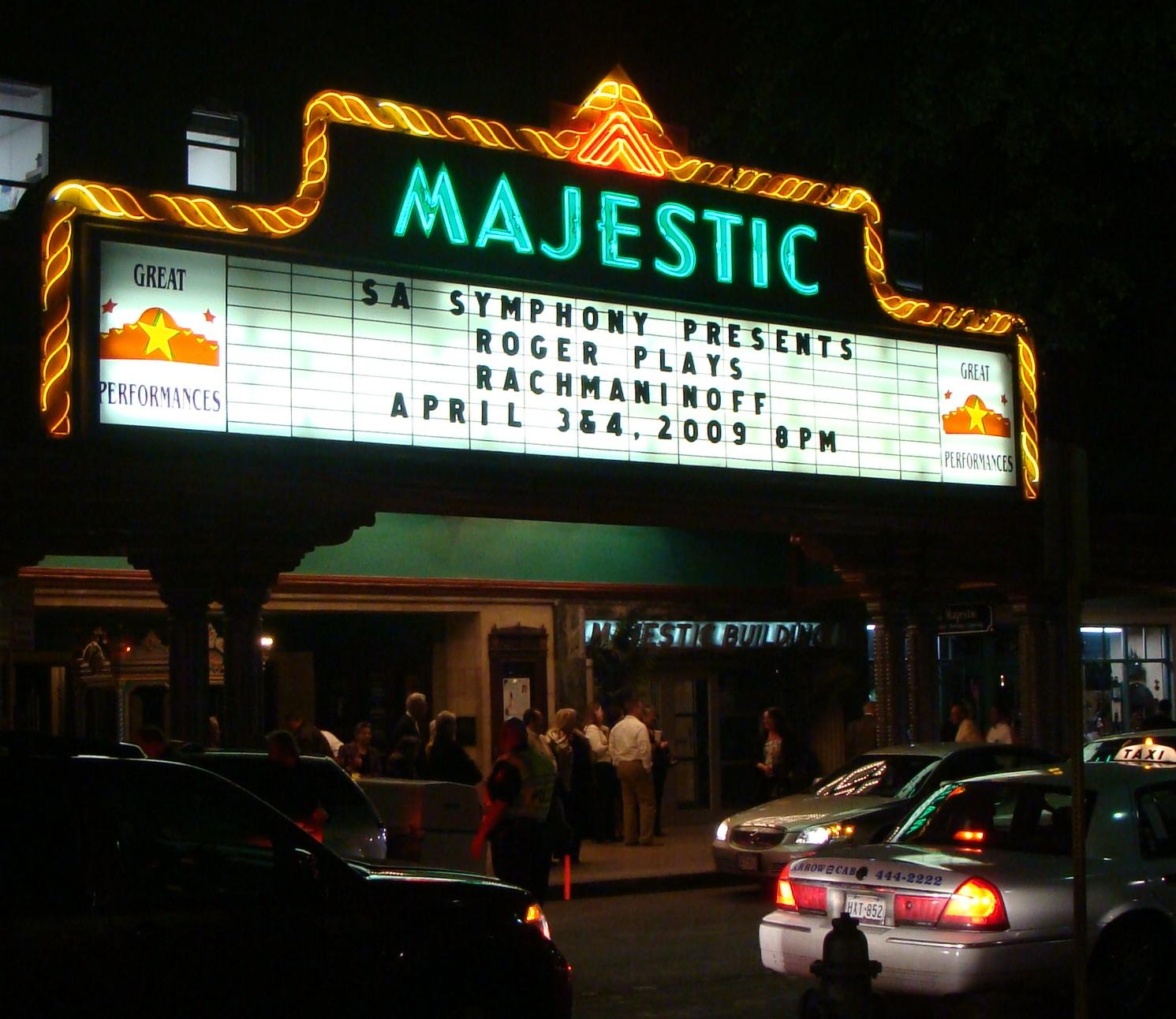 Majestic Theatre San Antonio Wikipedia