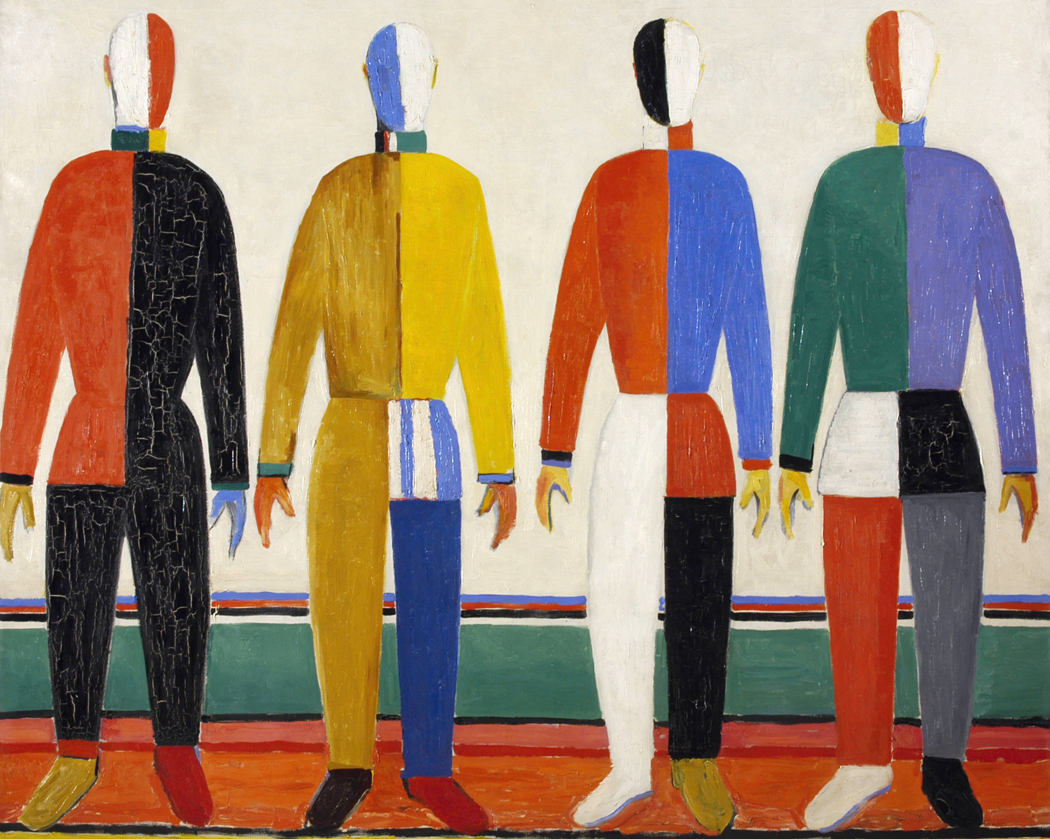 an interpretation of the red square painting by the russian painter kasimir malevich Artist, kazimir malevich year, 1915 (1915) medium, oil on canvas dimensions,  53 by 53 centimetres (21 in × 21 in) location, russian museum, saint  petersburg painterly realism of a peasant woman in two dimensions, more  commonly known as red square, is a 1915 painting by kazimir malevich  red  square is currently in the collection of the russian museum.