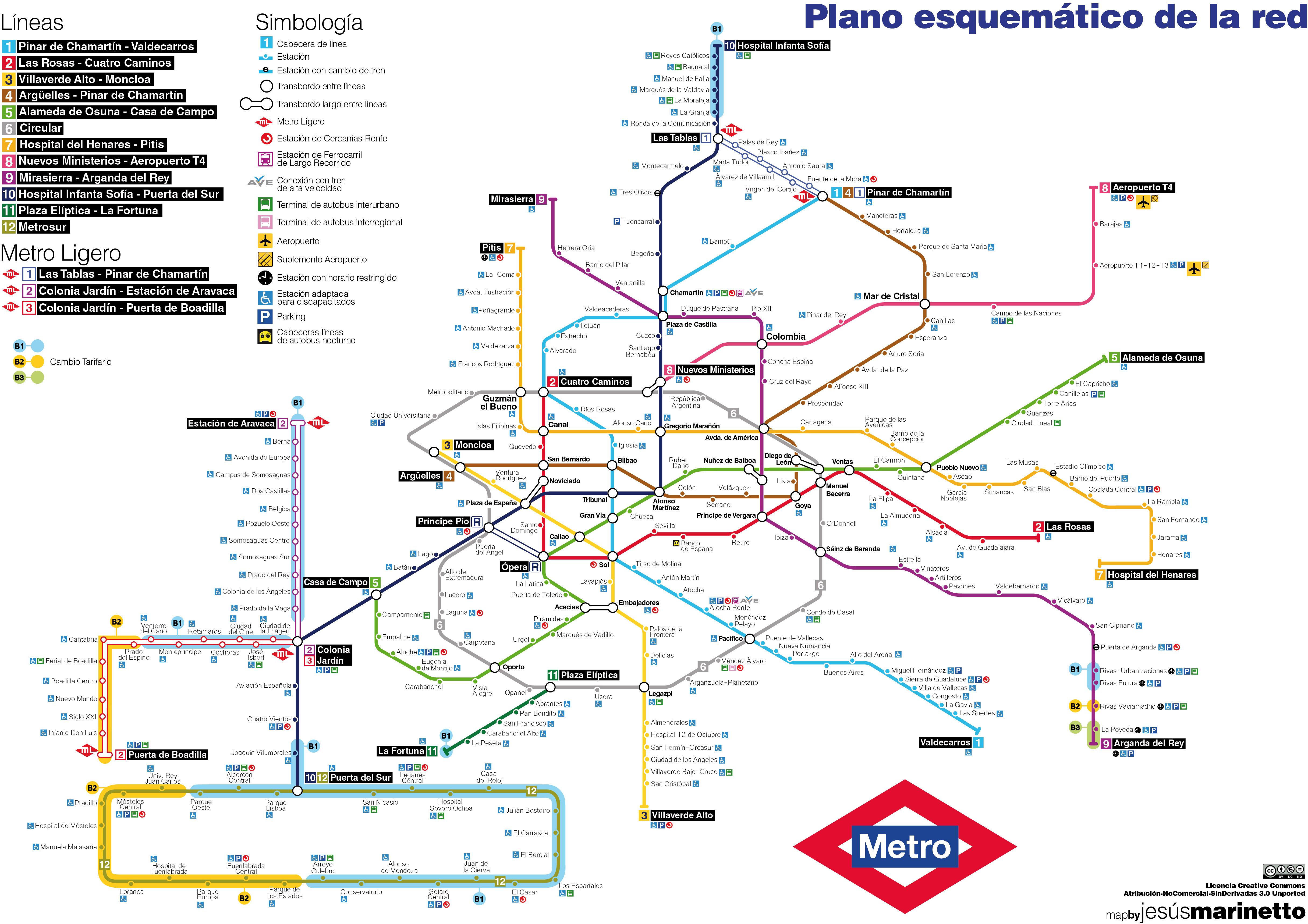 Mapa Metro De Madrid.Archivo Mapa Esquematico Del Metro De Madrid Jpg Wikipedia