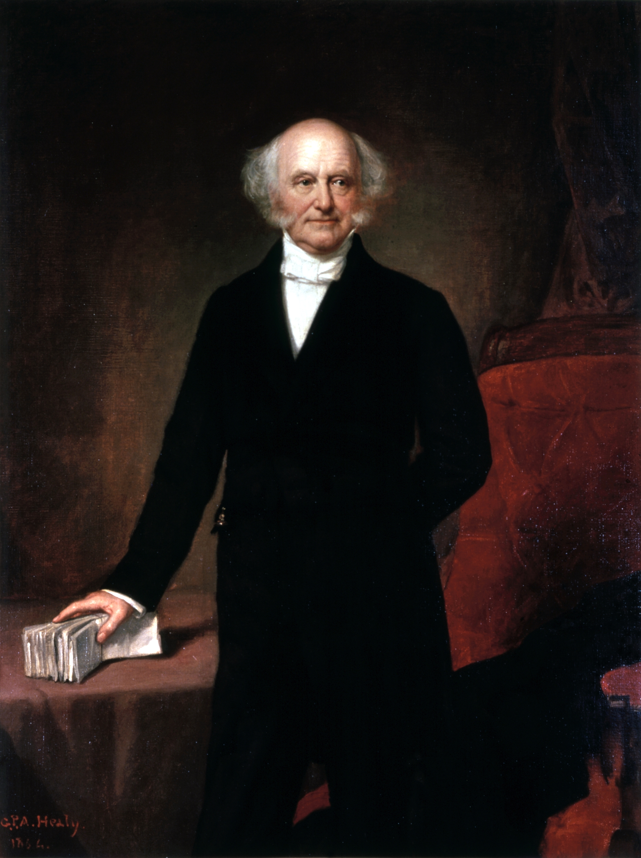 van buren Thc autobiography of martin van buren, issued by the american historical   he died at kin-  instances did mr van buren's politics interfere with his per.