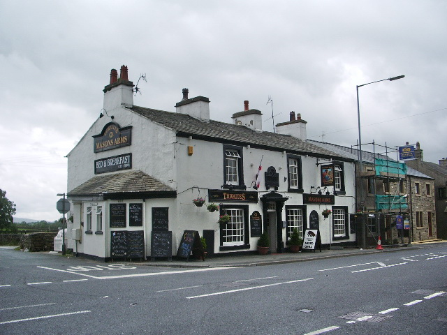 Masons Arms, Ingleton - geograph.org.uk - 889390
