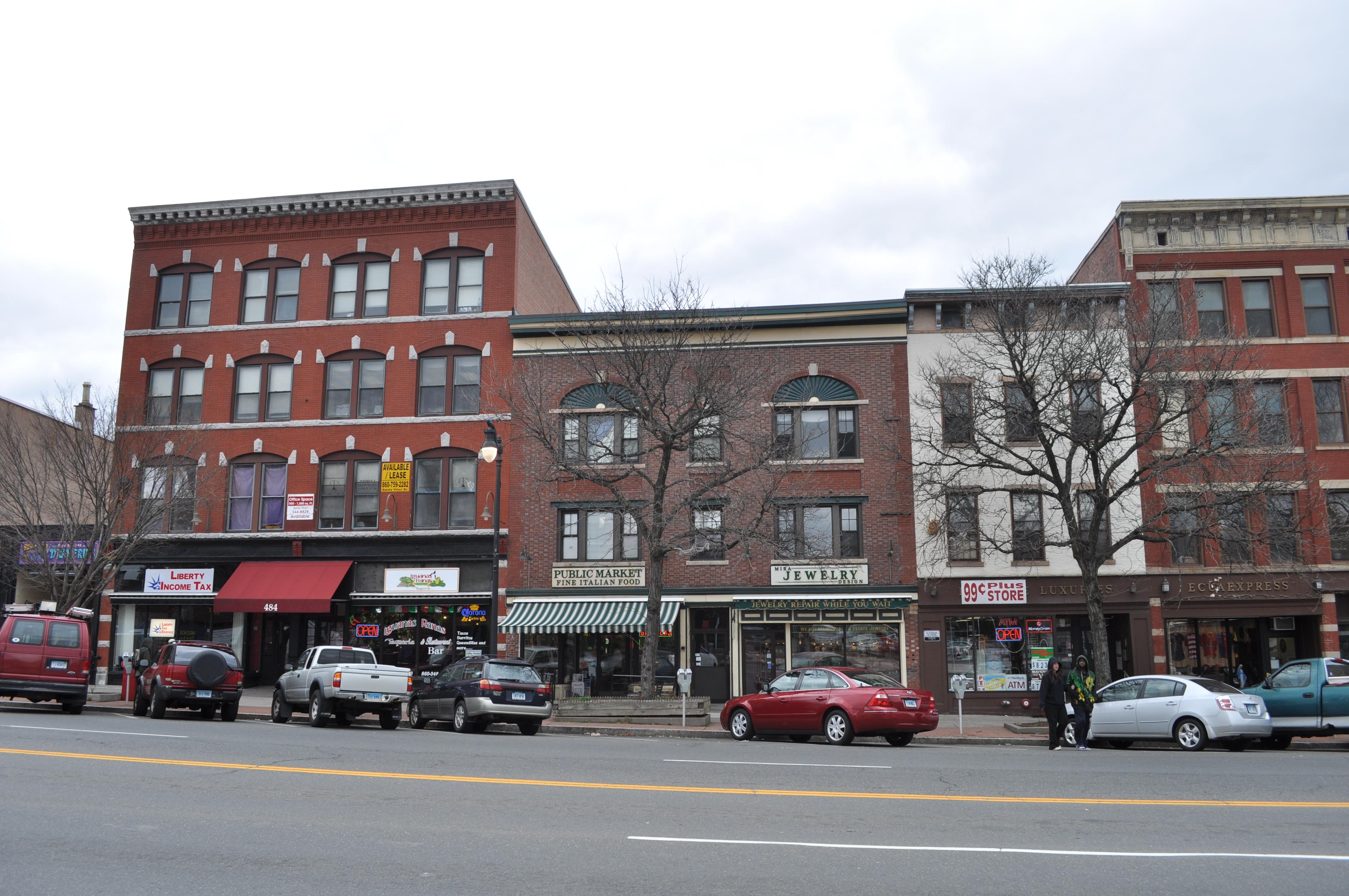 File:Middletown, CT - Main Street Market building 01.jpg ...