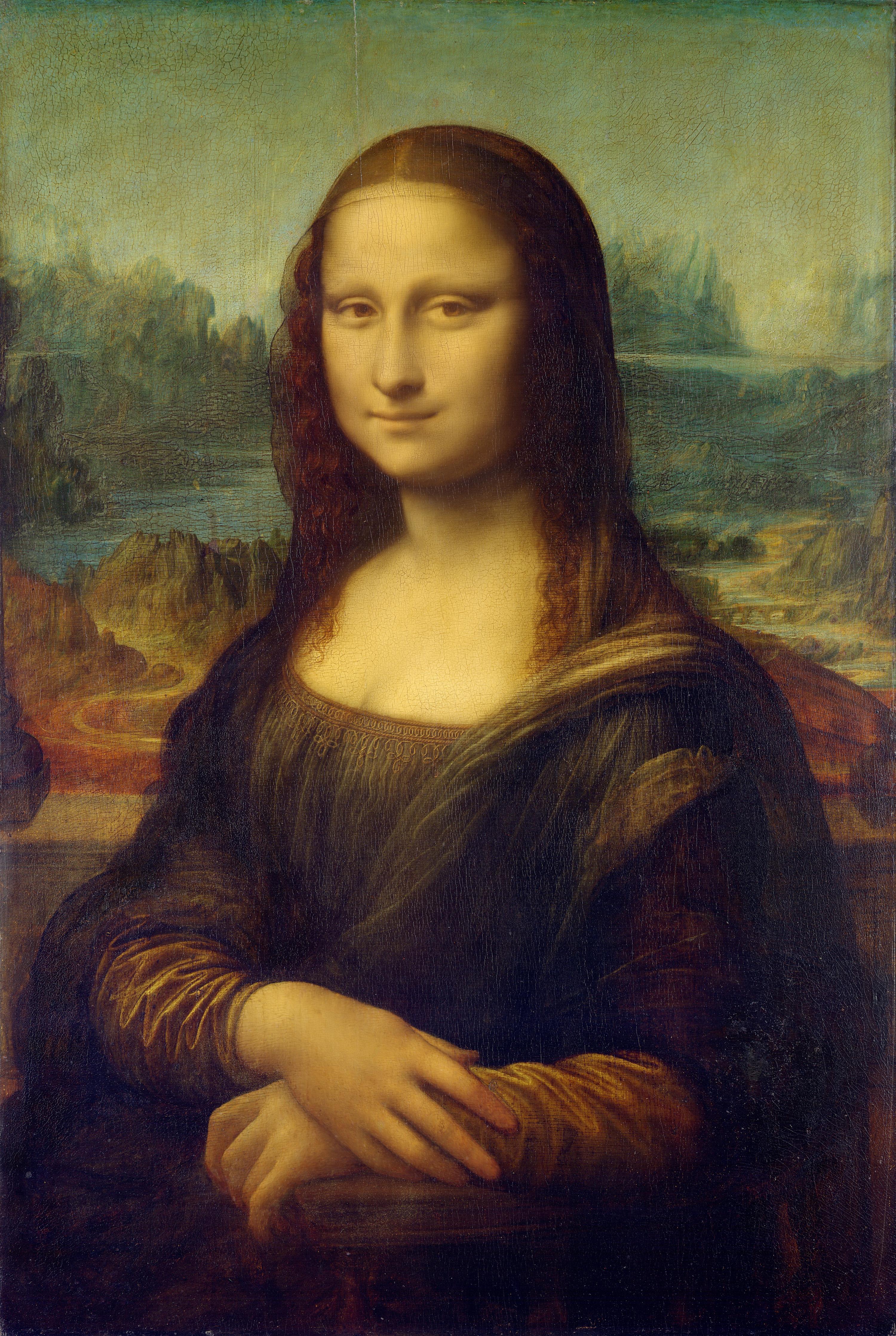 Mona Lisa, by Leonardo da Vinci, from C2RMF Repaired.jpg