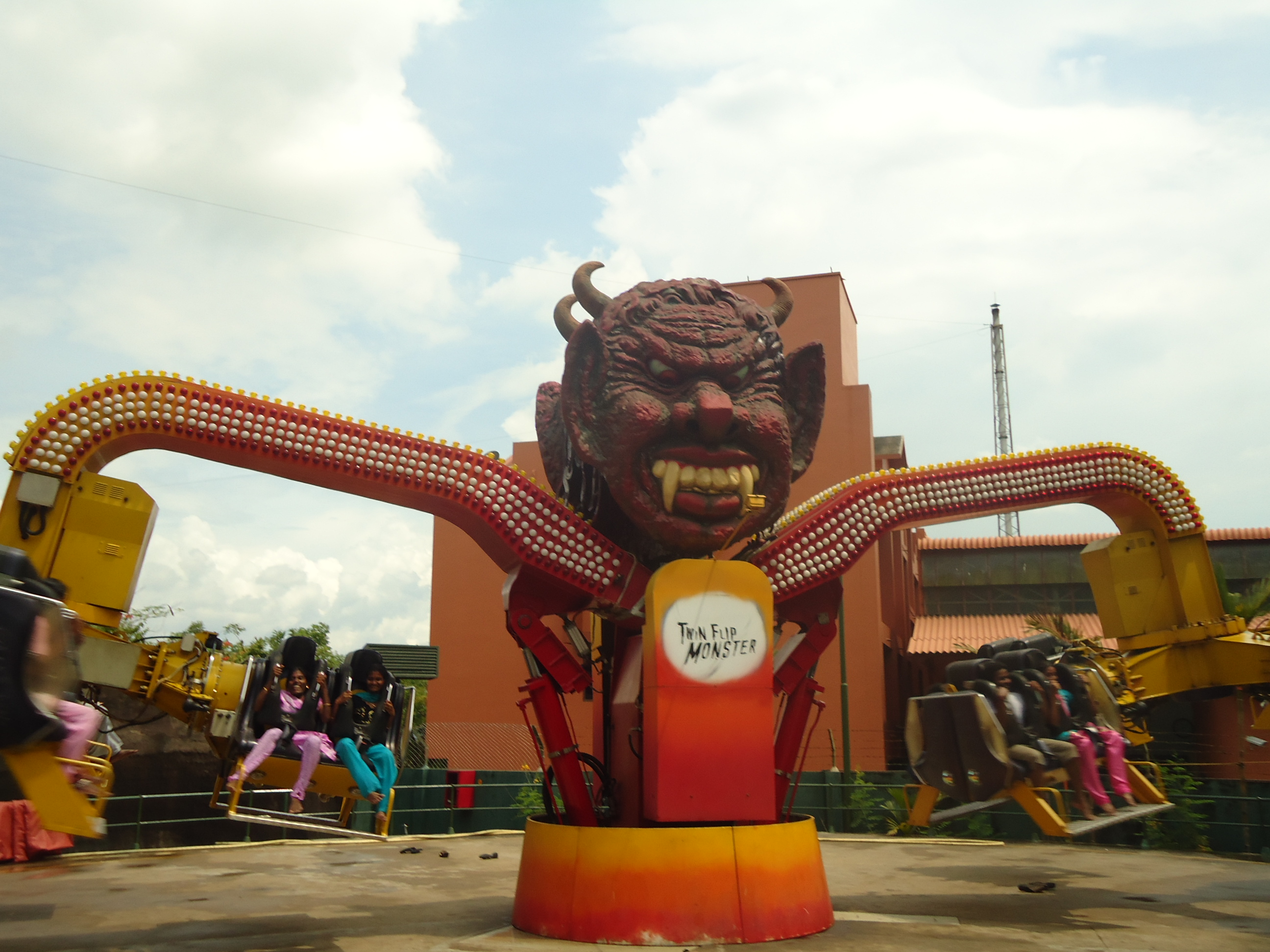 the monster ride