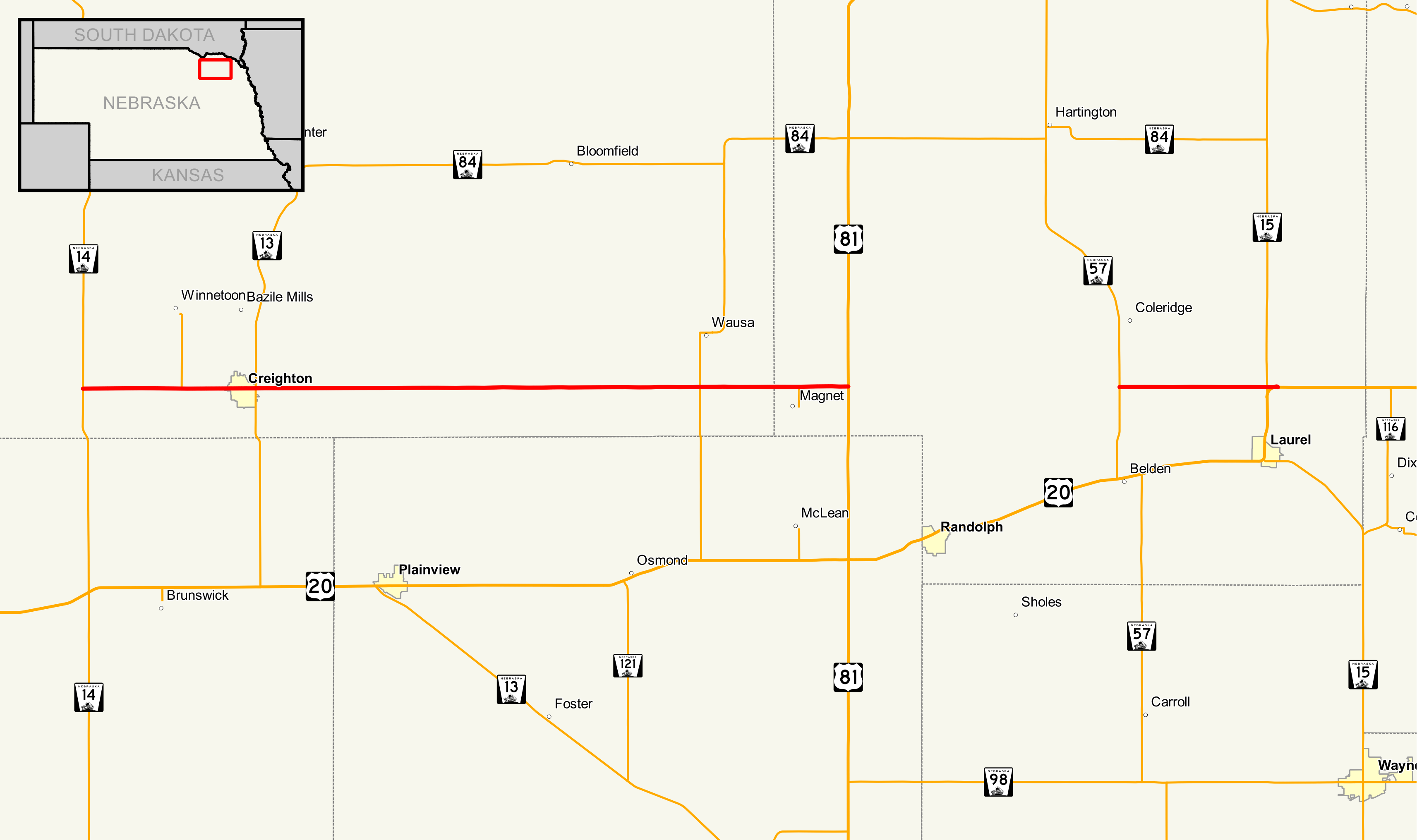 nebraska highway 59 - wikipedia