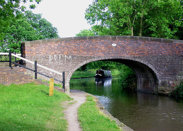 New Bridge No 91, Coventry Canal at Fradley - geograph.org.uk - 999995