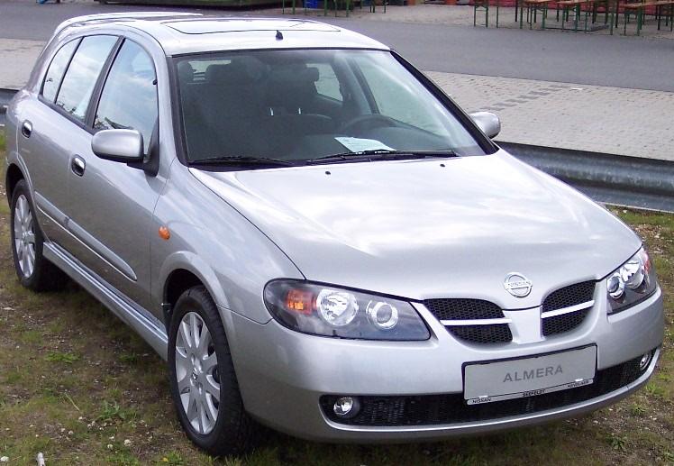ниссан альмера 2005