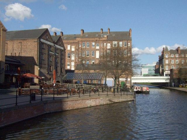 Nottingham Canal, Nottingham - geograph.org.uk - 1588416