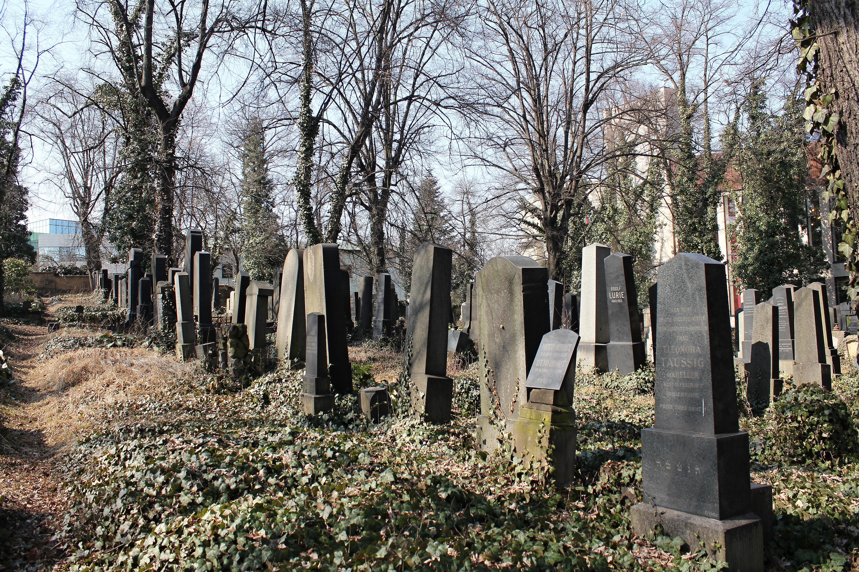 Nový židovský hřbitov na Smíchově