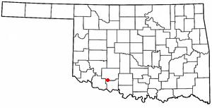 Faxon, Oklahoma Town in Oklahoma, United States