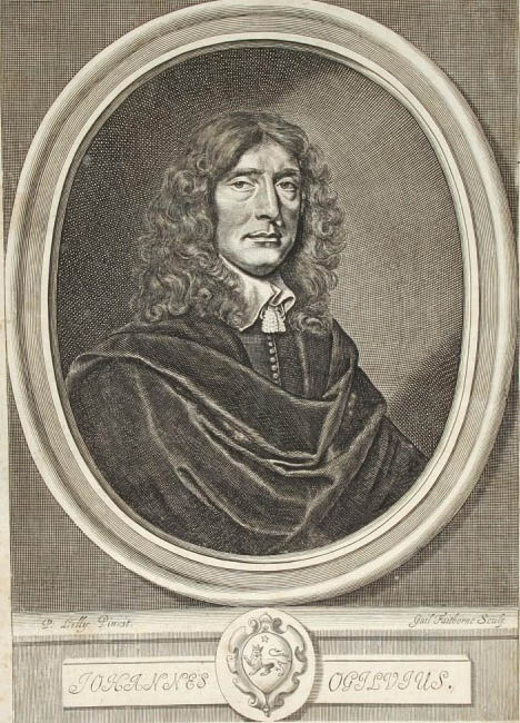 Portrait of John Ogilby from a 1660 edition of [[Homer