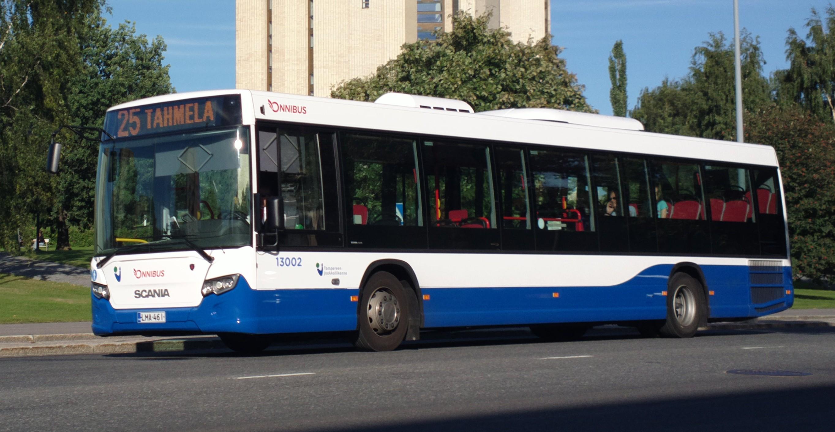 Bussi 25 Tampere