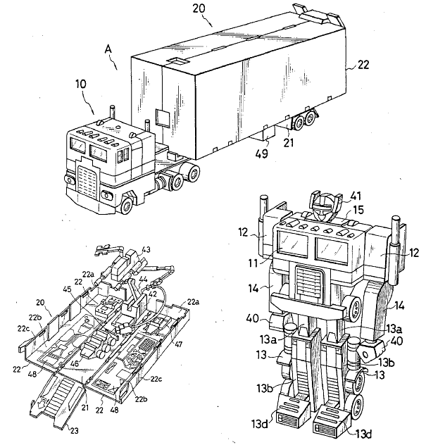 File Optimus Prime patent on free chevy s10 wiring diagram