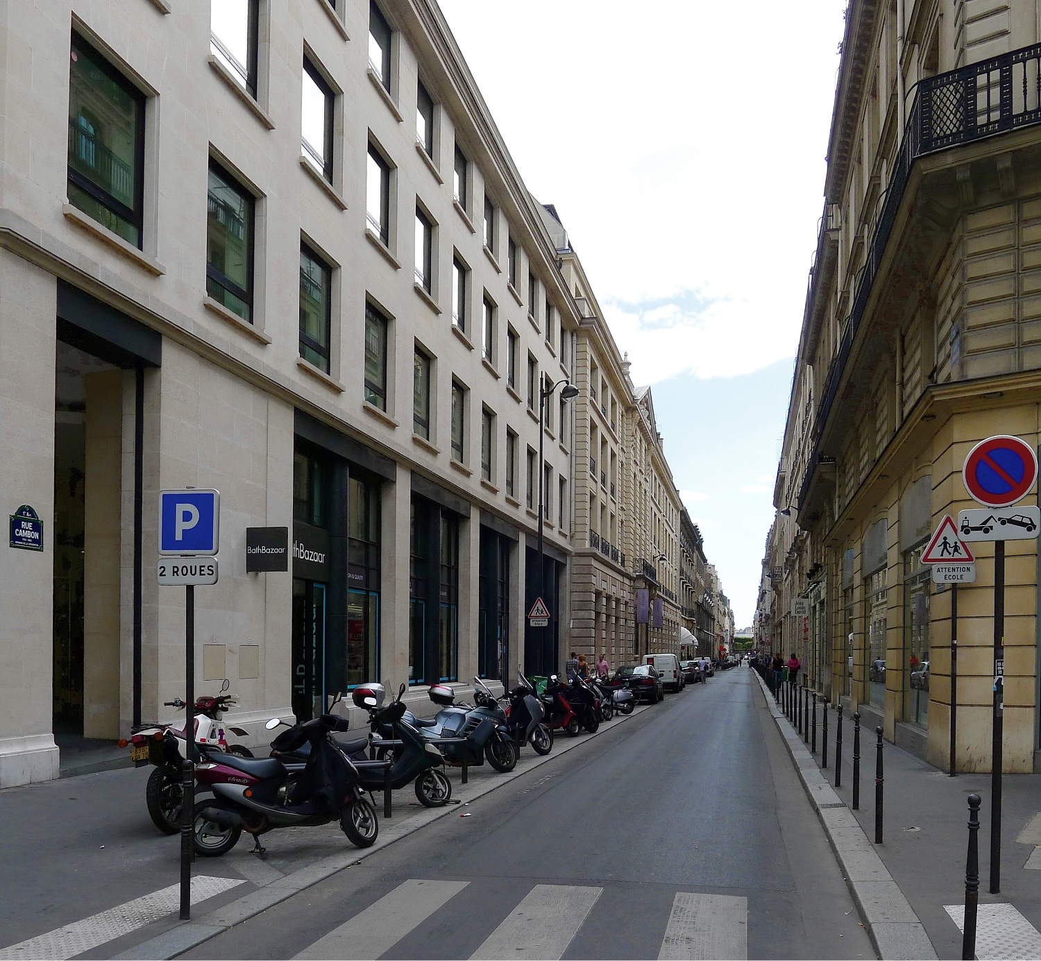 Hotel Paris Rue St Honore