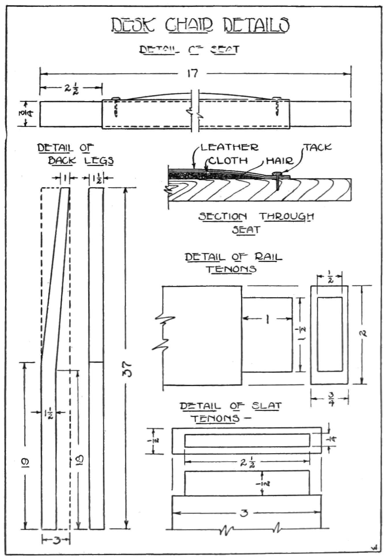 Kitchen Cabinet Section Drawing