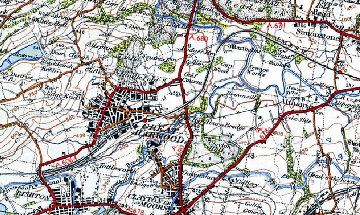Ordnance Survey Get a Map Old 1948 Ordnance Survey Map